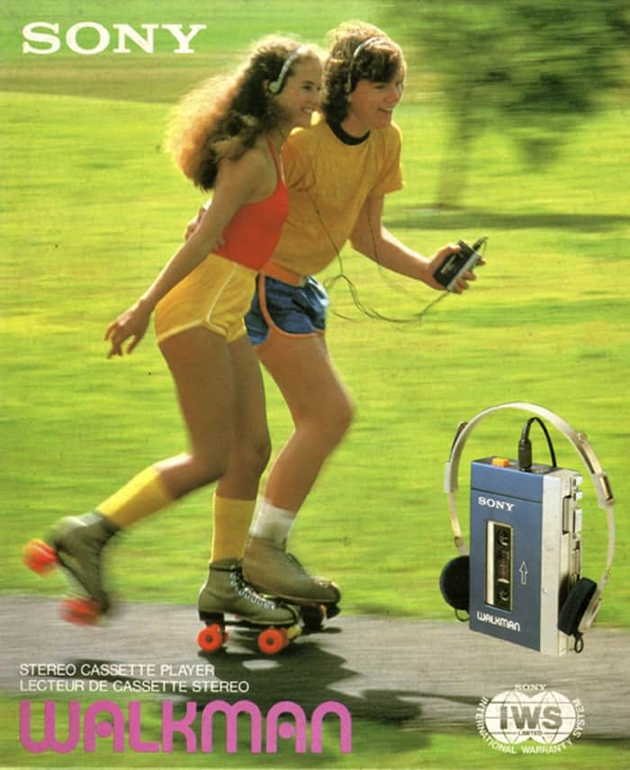 the Walkman and fitness