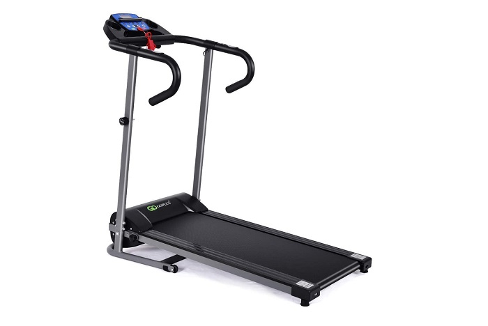 Goplus 1100W Electric Folding Treadmill